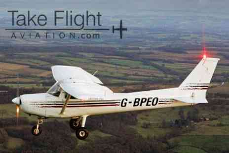 Take Flight Aviation - 30 Minute Flying Lesson - Save 50%