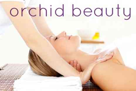 Orchid Beauty - Pamper Package Two Treatments Such as Indian Head Massage and Mini Manicure - Save 59%