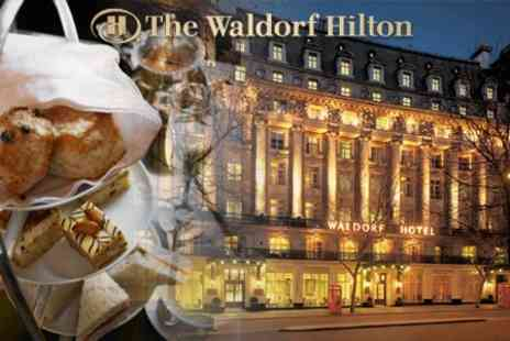 The Waldorf Hilton - Afternoon Tea With Champagne Cocktails For Two - Save 50%