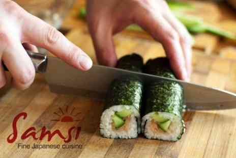 Samsi - Sushi Making Class For One With Sushi to Take Home - Save 55%