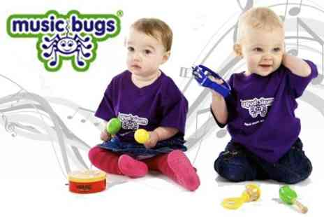 Music Bugs - Childrens Music Tuition Two Lessons - Save 50%