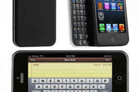 Livmore - Backlit Keyboard for iPhone 4 - Save 60%