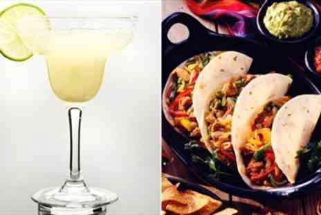 El Guaca - Top Rated Mexican Dinner for 2 including Cocktails - Save 53%