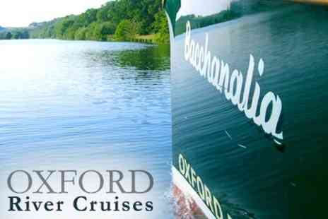 Oxford River Cruises - The Spirit of Oxford Cruise - Save 52%