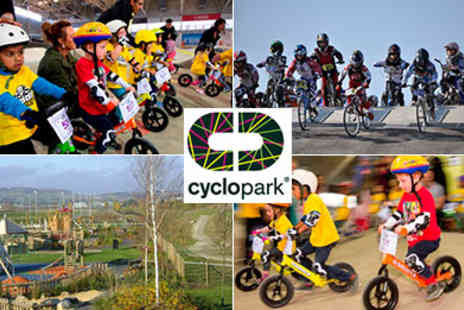Cyclopark - Strider Bike or BMX Induction Sessions - Save 40%
