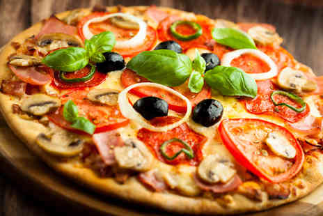 Domes Kitchen - Two 12 pizzas inc. delivery from Domes Kitchen - Save 62%