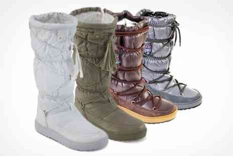 Clever Pretty Shoes - Womens Snow Boots in Choice of Size and Colour - Save 69%