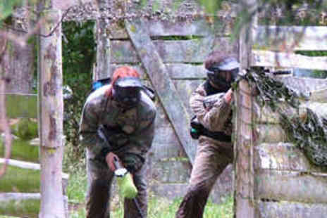 Project Paintball - Paintball Day for Six with Lunch and Paintballs - Save 85%