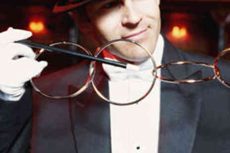 Smoke and Mirrors - Entrance to Magic Show for Four with Private Table - Save 57%
