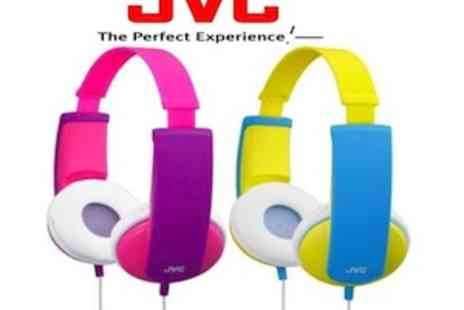 EIC Direct - JVC Tiny Phones Kids Stereo Headphones  Two Colours Available - Save 38%