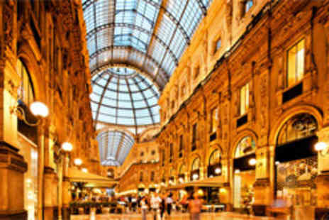 Clear Sky Holidays - 4star escape to Milan including return flights - Save 50%