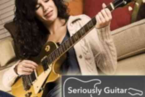 Seriously Guitar - Guitar Tuition Software Package for Mac or PC, with 100 Hours of Lessons - Save 86%