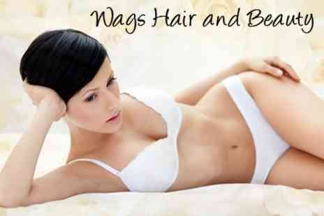 Wags Hair - Half Leg and Underarm Wax - Save 59%
