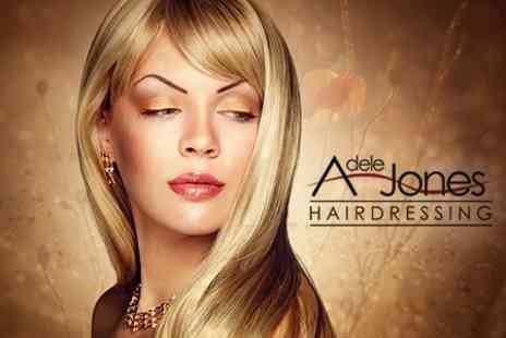 Adele Jones Hairdressing - Half Head of Highlights With Cut and Finish Plus Hair Treatment - Save 74%