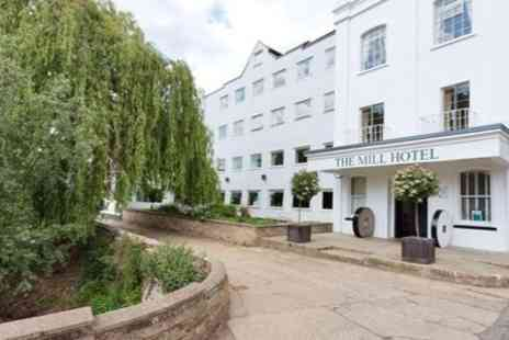 The Mill Hotel - In Suffolk Two Night Stay For Two With Three Course Dinner and Breakfast - Save 41%