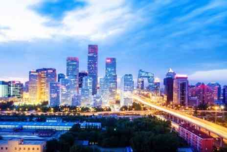ClearSky Holidays - In Beijing Seven Night 5star Stay With Flights and Tours For Two - Save 36%