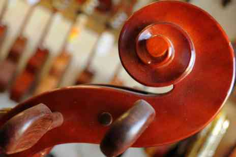 Cherry Pie Music - Three private cello lessons from a professional cello teacher - Save 35%