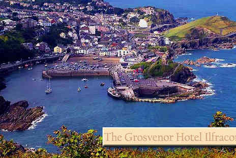 Grosvenor Hotel - Two night stay for two Includes a full English breakfast & a 3 course meal on both nights - Save 64%