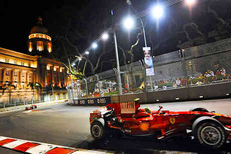 Independent World Choice - Experience Formula 1 after dark with a luxurious 4 Nights in Singapore for the Grand Prix 2013 including flights - Save 31%
