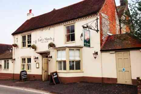 The Earl of March - 3 Course Meal & Bubbly for 2 - Save 56%