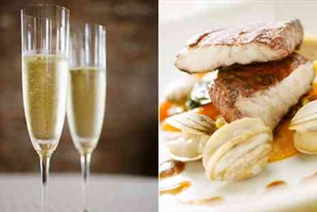 No. 4 Clifton Village - Award Winning 2 Course Dinner & Bubbly for 2 - Save 54%