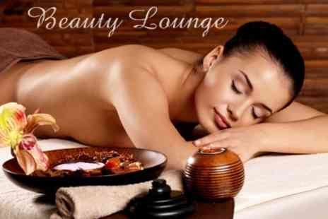 Beauty Lounge - Custom Beauty Package Two Treatments Such as Jessica Manicure, Dermalogica Facial and Back Massage - Save 61%