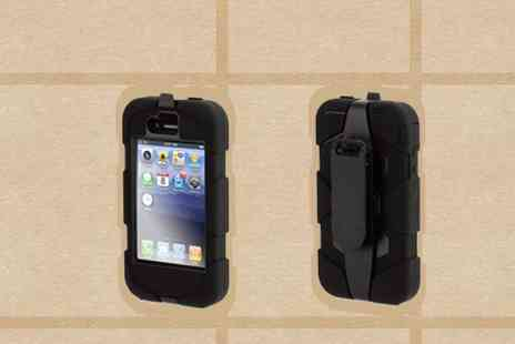 iProtect - Shockproof Case for iPhone 4 - Save 64%