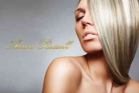 Aaron Russell - Cut, Blow Dry, and Full Tint or Half Highlights - Save 60%