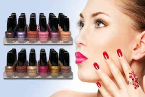 Zuvo - 24 Vibrant Coloured London Girl Nail Polishes - Save 70%