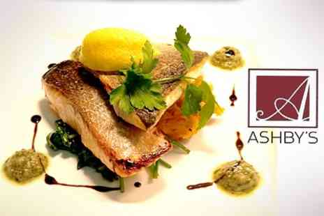 Ashby's Restaurant - Three Course Meal For Two - Save 57%