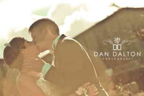 Dan Dalton Photography - Four Hour Wedding Photography Package - Save 69%