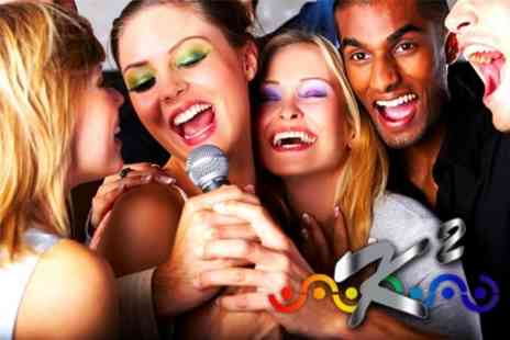 K2 - Karaoke Party For Up To Ten People With Two Shots Each - Save 92%