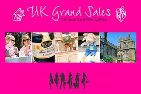UK Grand Sales - Summer Fashion Sale at Ascot Racecourse Two Tickets - Save 50%