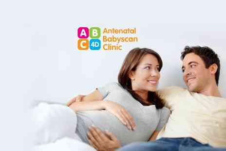 Antenatal Babyscan Clinic - Baby scan package in Motherwell with 4D imaging, colour prints & DVD - Save 57%