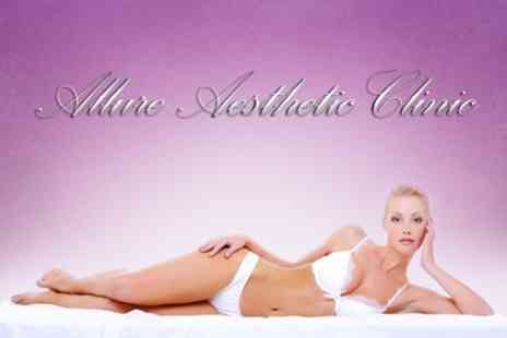 Allure Aesthetic Clinic - Laser Hair Removal Six Sessions on One Large and One Small Area - Save 86%