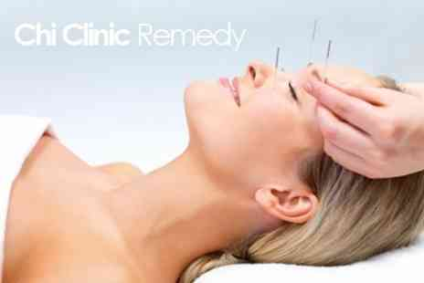 Chi Clinic Remedy - Back Massage With Acupuncture Treatment - Save 31%
