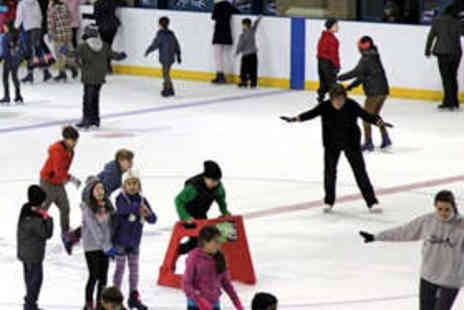 Alexandra Palace Ice Rink - Family Ice Skating Pass with Skate Hire - Save 51%