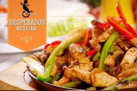 Desperados - Two Course Mexican Meal and Cocktails For Two - Save 58%