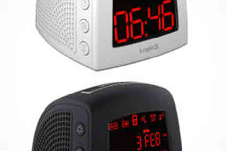 Logic3 - Radio Alarm Dock for iPhone/iPod in Black or White - Save 62%