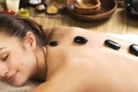 Beauty by Debbie - Hot stone massage & facial - Save 79%