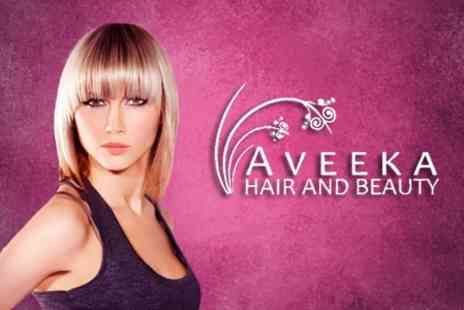 Aveeka Hair and Beauty - Full Head of Highlights With Restyle and Finish - Save 70%