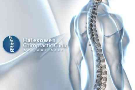 Halesowen Chiropractic Clinic - Halesowen Chiropractic Clinic Consultation and Three Treatments - Save 82%
