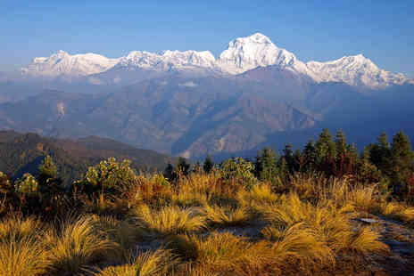 Earthbound Expeditions - 10 day Nepal trek and yoga retreat - Save 36%