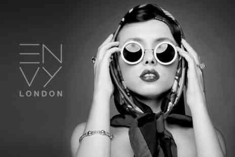 ENVY London - Photoshoot Including MAC Makeover For One or Two With Digitally Retouched Prints - Save 90%