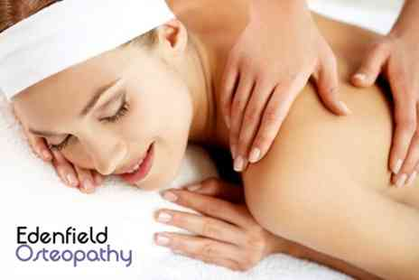 Edenfield Osteopathy - Choice of Sports, Deep Tissue or Full Body Massage - Save 61%
