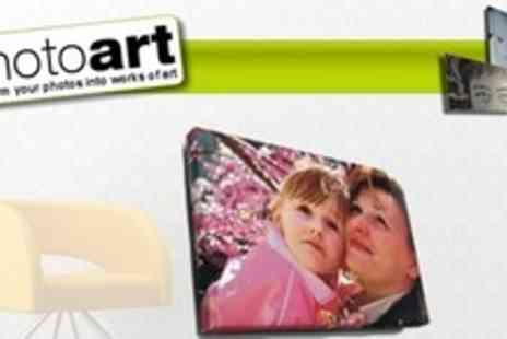Photoart Warehouse - 30x20 Photo Canvas or PVC Print - Save 76%