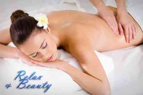 Relax and Beauty - 90 Minute Massage Plus Facial - Save 67%