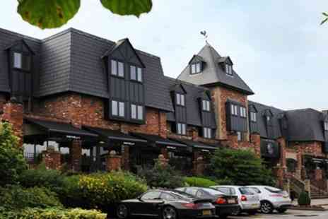 Village Hotel Warrington - One Night Stay For Two With Three Course Dinner Wine and Breakfast - Save 46%