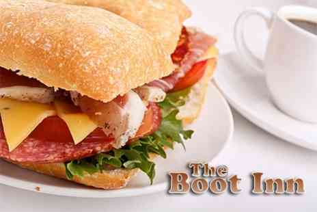 The Boot Inn - Two Course Lunch With Coffee and Mini Dessert - Save 50%