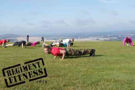 Regiment Fitness - Ten Outdoor Boot Camp Sessions - Save 83%